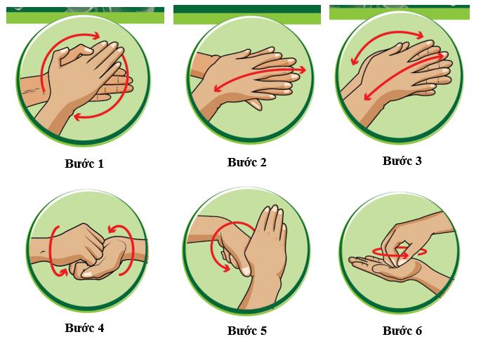 Cách sử dụng nước rửa tay khô