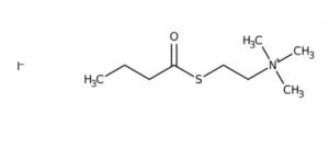 S-Butyrylthiocholine iodide, 98%, 25 g, Acros