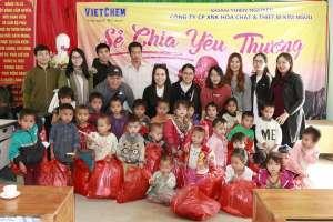 VietChem lan tỏa hơi ấm đến Hà Giang