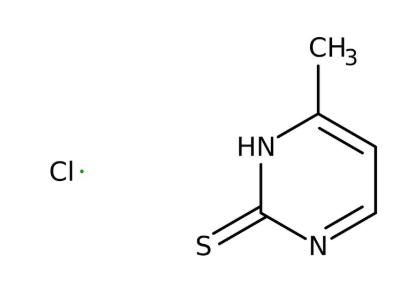 2-Mercapto-4-methylpyrimidine hydrochloride 99%, 500g Acros