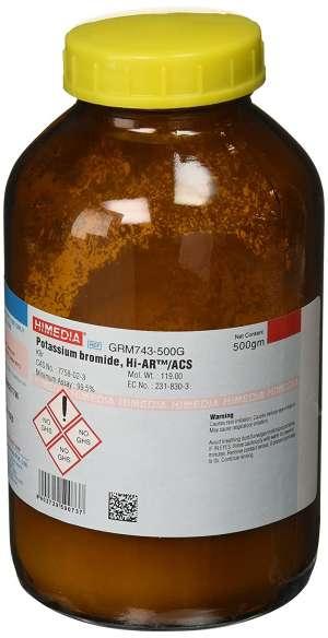 Potassium bromide, A.R GRM743-500G Himedia