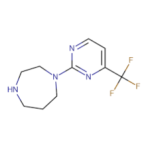 1-[4-(Trifluoromethyl)pyrimidin-2-yl]-1,4-diazepane, 95% 1g Maybridge