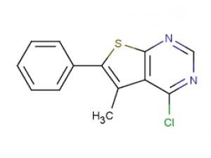 4-chloro-5-methyl-6-phenylthieno[2,3-d]pyrimidine, 97% 1g Maybridge
