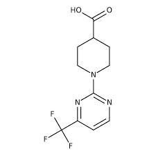 1-[4-(Trifluoromethyl)-2-pyrimidinyl]-4-piperidinecarboxylic acid, ≥97% 10g Maybridge