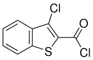 3-Chlorobenzo[b]thiophene-2-carbonyl chloride, 97% 25g Maybridge