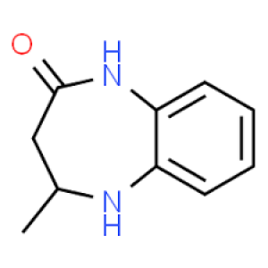 4-Methyl-1,3,4,5-tetrahydro-2H-1,5-benzodiazepin-2-one, 97% 10g Maybridge