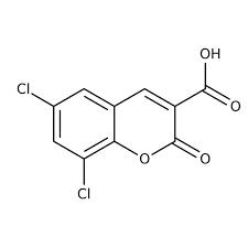 6,8-Dichloro-2-oxo-2H-chromene-3-carboxylic acid, ≥95% 250mg Maybridge