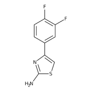 4-(3,4-Difluorophenyl)-1,3-thiazol-2-amine, 97% 1g Maybridge