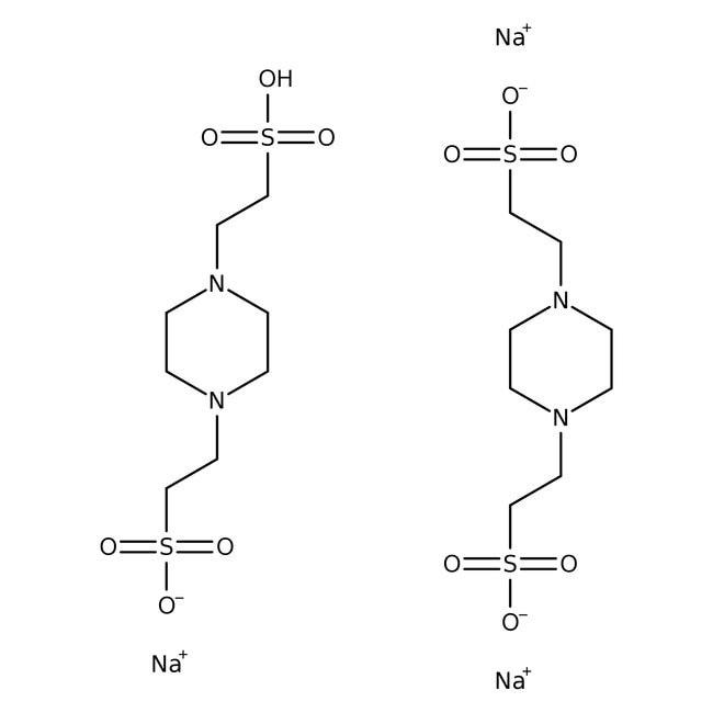 PIPES, sesquisodium salt (Molecular Biology) 500g Bioreagents
