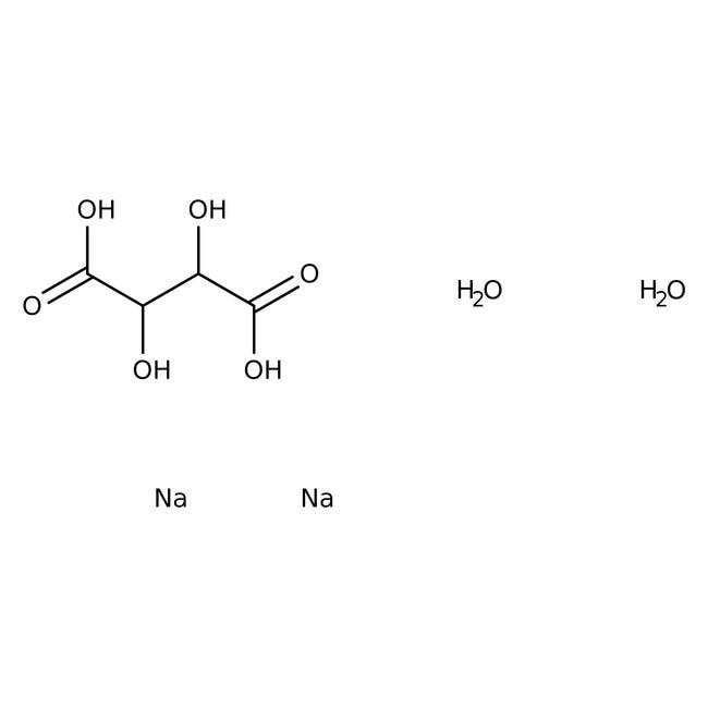 Sodium tartrate dihydrate 500g Bioreagents