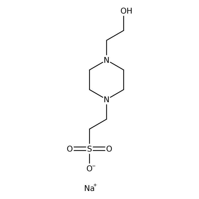 HEPES, Sodium Salt 1kg Bioreagents