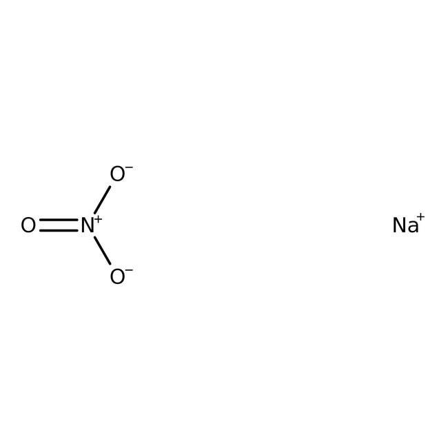 Sodium nitrate 500g Bioreagents