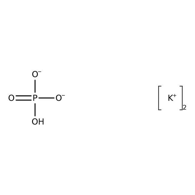 Potassium phosphate, dibasic 500g Bioreagents