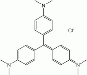 Crystal violet, Practical grade GRM961-100G Himedia