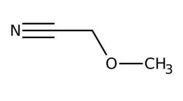 Methoxyacetonitrile 98%, 5g Acros