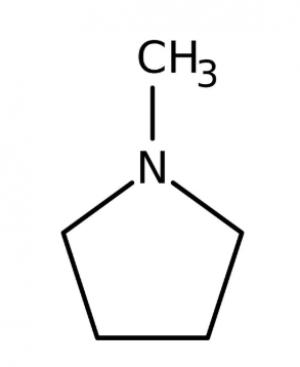 1-Methylpyrrolidine 98%, 100g Acros