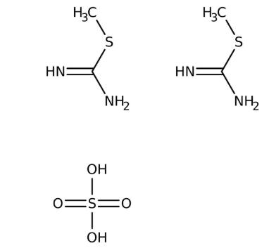 2-Methyl-2-thiopseudourea hemisulfate 98% 2.5kg Acros