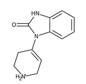 1,3-Dihydro-1-(1,2,3,6-tetrahydro-4-pyridinyl)-2H-benzimidazole-2-one, 97% 1g Acros