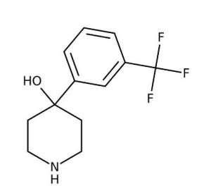 4-[3-(Trifluoromethyl)phenyl]-4-piperidinol, 97% 25g Acros