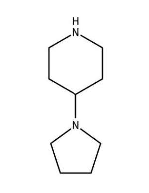 4-(1-Pyrrolidinyl)piperidine, 99% 1g Acros