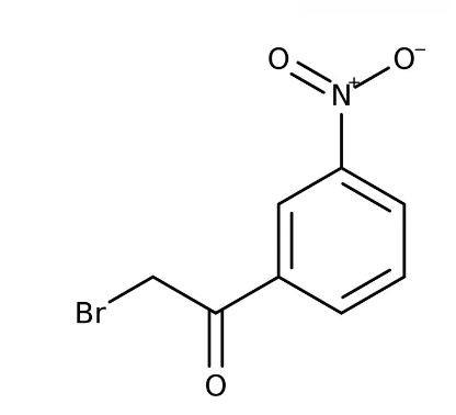 2-Bromo-3'-nitroacetophenone, 97% 5g Acros