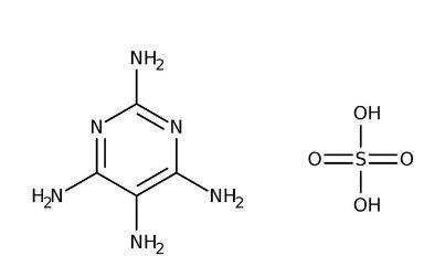 2,4,5,6-Tetraaminopyrimidine sulfate hydrate, 98% 5g Acros