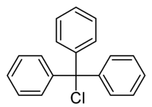 Triphenylmethyl chloride, 98% 100g Acros