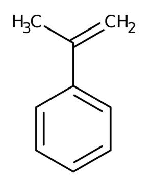 alpha-Methylstyrene 99% stabilized 1kg Acros