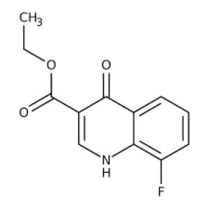 Ethyl 8-fluoro-4-oxo-1,4-dihydroquinoline-3-carboxylate, 97% 1g Maybridge