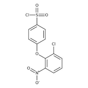 4-(2-Chloro-6-nitrophenoxy)benzene-1-sulfonyl chloride, 97% 1g Maybridge