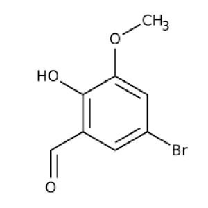 5-Bromo-2-hydroxy-3-methoxybenzaldehyde, 97% 10g Maybridge