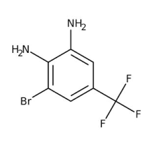 3-Bromo-5-(trifluoromethyl)benzene-1,2-diamine, 97% 1g Maybridge