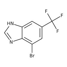4-Bromo-6-(trifluoromethyl)-1H-benzo[d]imidazole, 97% 1g Maybridge