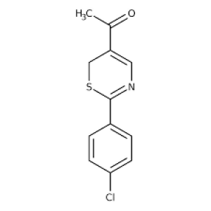 1-[2-(4-chlorophenyl)-6H-1,3-thiazin-5-yl]ethan-1-one, 97% 1g Maybridge