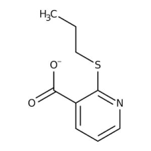 2-(Propylthio)nicotinic acid, 97% 1g Maybridge