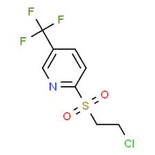 2-[(2-chloroethyl)sulfonyl]-5-(trifluoromethyl)pyridine, 97% 1g Maybridge