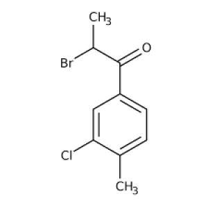 2-Bromo-1-(3-chloro-4-methylphenyl)propan-1-one, Tech 1g Maybridge