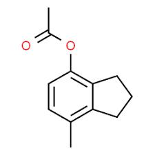 7-Methyl-2,3-dihydro-1H-inden-4-yl acetate, 97% 1g Maybridge