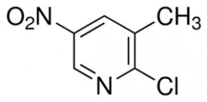 2-chloro-3-methyl-5-nitropyridine, 97% 1g Maybridge