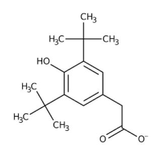 2-[3,5-di(tert-butyl)-4-hydroxyphenyl]acetic acid, 97%10g Maybridge