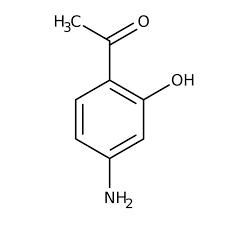 1-(4-Amino-2-hydroxyphenyl)ethan-1-one, Tech 1g Maybridge