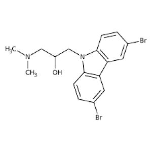1-(3,6-Dibromo-9H-carbazol-9-yl)-3-(dimethylamino)propan-2-ol, 97% 250mg Maybridge
