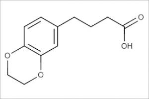 4-(2,3-Dihydro-1,4-benzodioxin-6-yl)butanoic acid, 90% 1g Maybridge