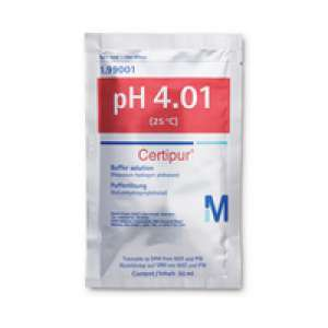 Buffer solution (potassium hydrogen phthalate), traceable to SRM from NIST and PTB pH 4.01 (25°C) Certipur® Merck