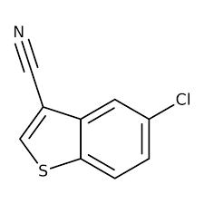 5-chloro-1-benzothiophene-3-carbonitrile 1g Maybridge