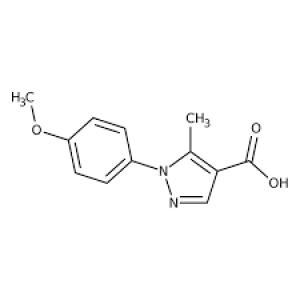 1-(4-Methoxyphenyl)-5-methyl-1H-pyrazole-4-carboxylic acid, 97% 1g Maybridge