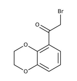 2-Bromo-1-(2,3-dihydro-1,4-benzodioxin-5-yl)-1-ethanone, 97% 250g Maybridge