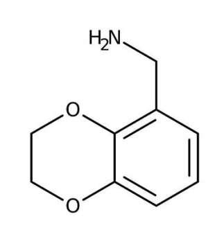2,3-Dihydro-1,4-benzodioxin-5-ylmethylamine hydrochloride, 95% 1g Maybridge