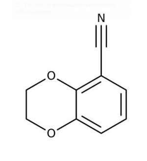 2,3-Dihydro-1,4-benzodioxine-5-carbonitrile, 97% 250mg Maybridge