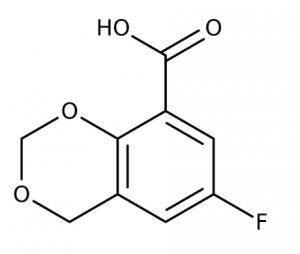 6-Fluoro-4H-1,3-benzodioxine-8-carboxylic acid, 97% 1g Maybridge